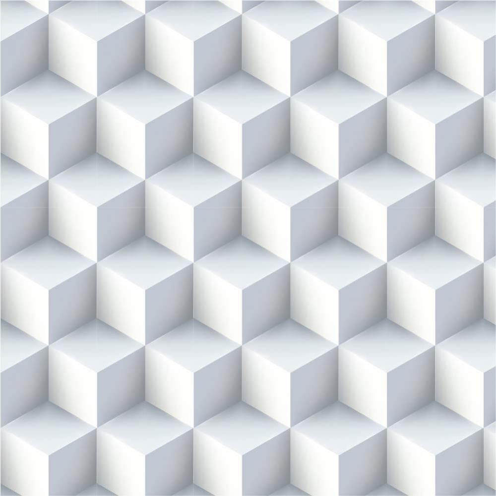 Papel de Parede Adesivo - 3D cubos