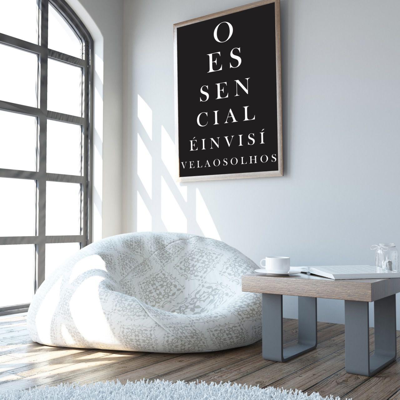 Placas decorativas em PVC - Frases