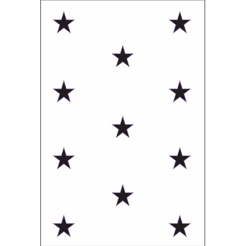 Placas decorativas em PVC - Astronauta / Estrelas