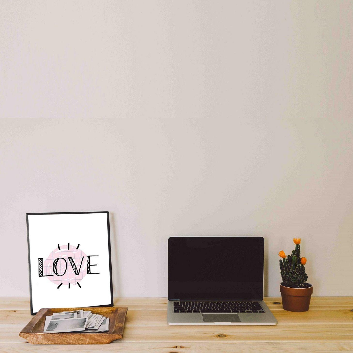 Placas decorativas em PVC - Dia dos Namorados