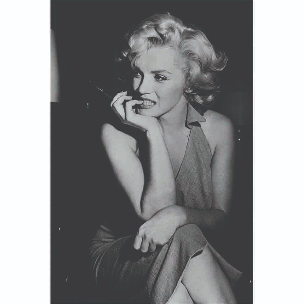 Placas decorativas em PVC - Marilyn Monroe