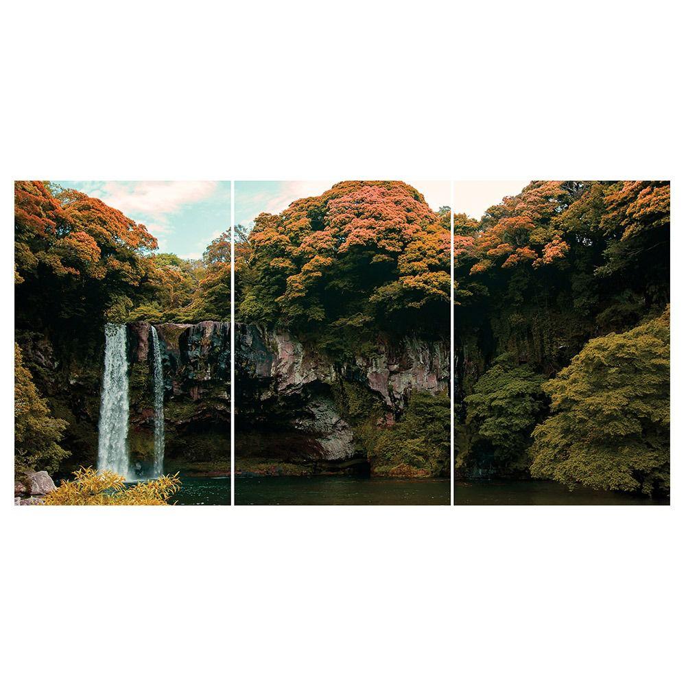 Placas decorativas em PVC - Cachoeira