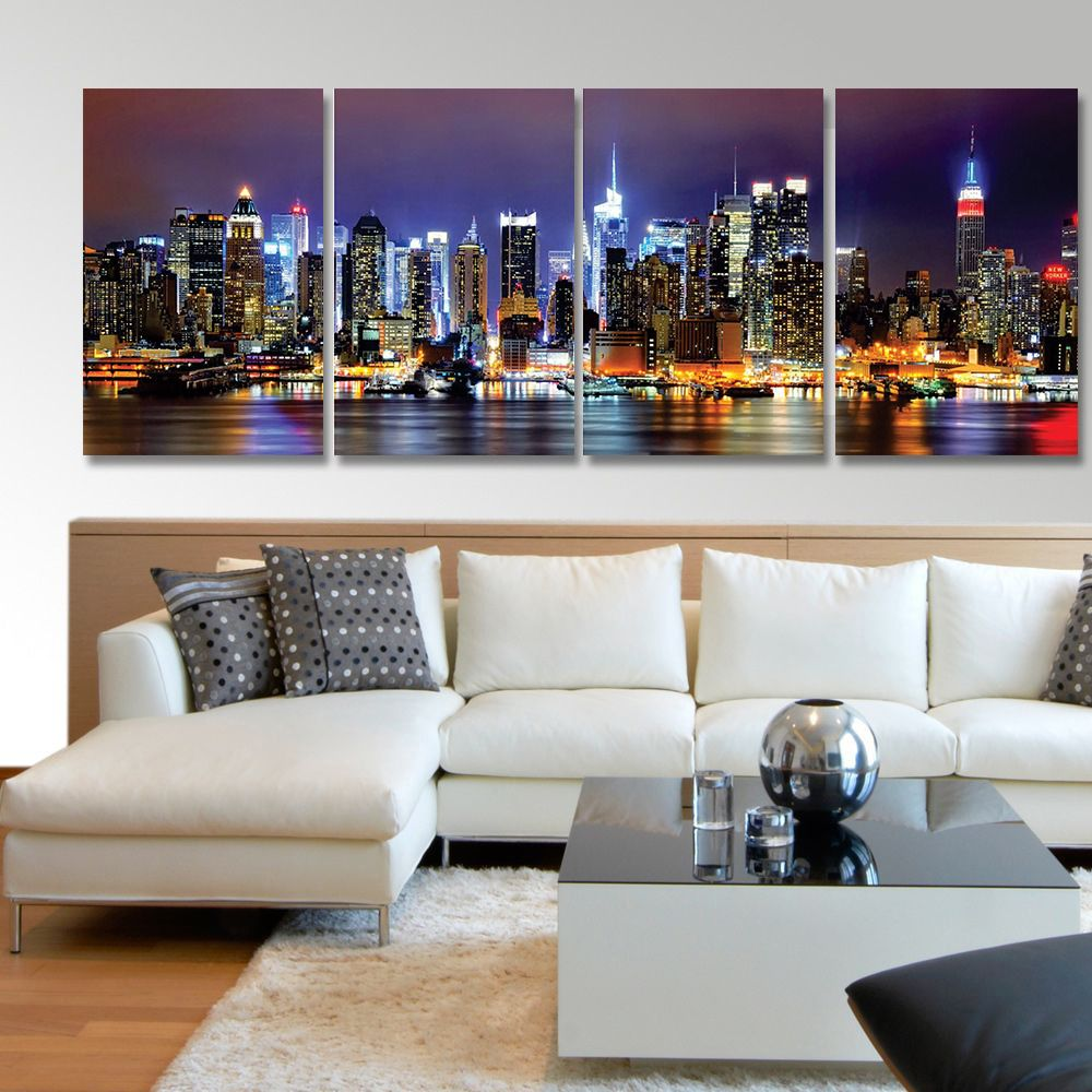 Placas decorativas em PVC - Nova York