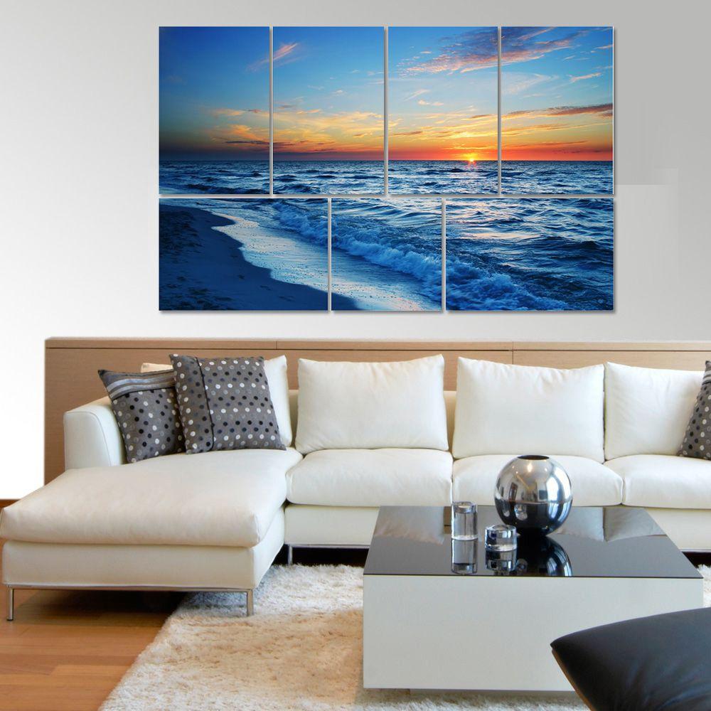 Placas decorativas em PVC - Pôr do Sol