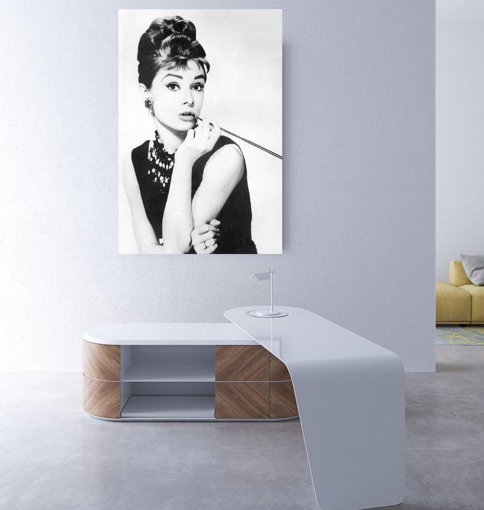 Placas decorativas em PVC - audrey hepburn