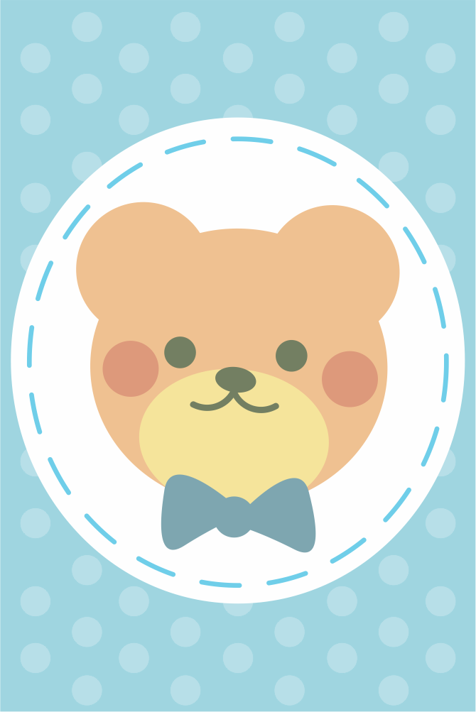Placas decorativas em PVC - Kit 3 Infantil Menino