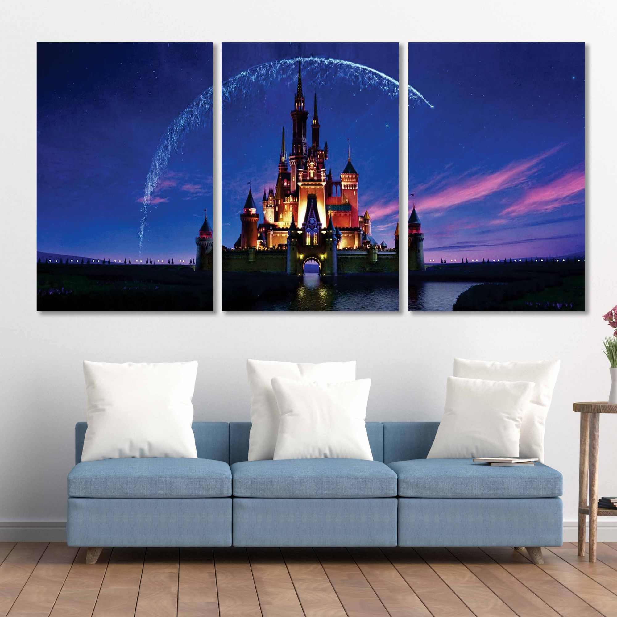 Placas decorativas em PVC - Kit 3unid. Disney