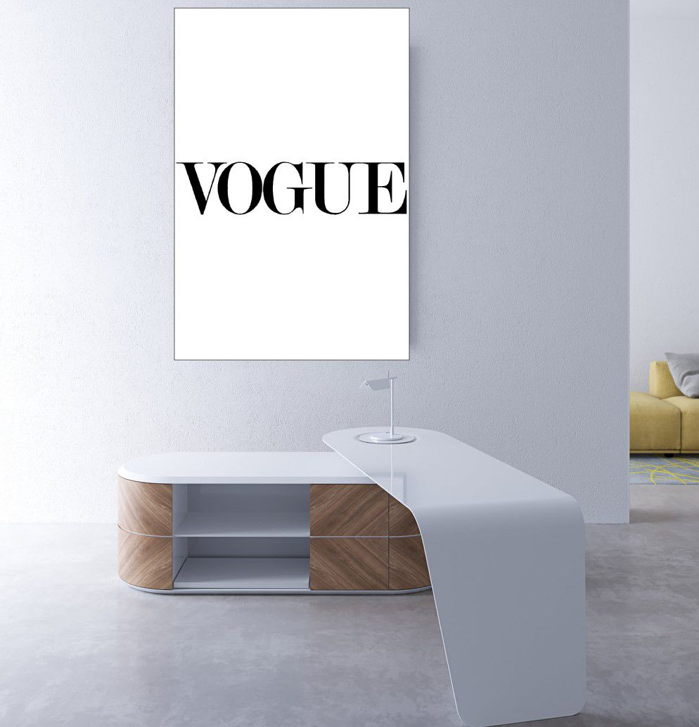 Placas decorativas em PVC - vogue