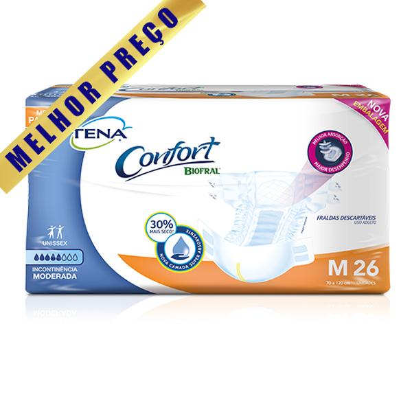 TENA CONFORT MEGA TAM M (78 UNIDADES)