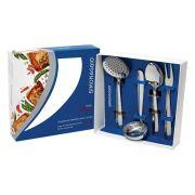 Conjunto com 4 utensílios para Cozinha