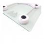 Balança Digital Quadrada de Vidro - Até 180kg