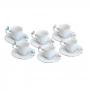 Conjunto 6 Xícaras de Café e Pires Birds - 100ml