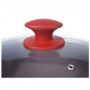 Conjunto de Panelas Ceramic Optima Carmin - 5 Peças