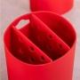 Conjunto Organize Sua Pia Basic Vermelho