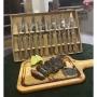 Conjunto para Churrasco Jumbo Barbecue - 12 Peças