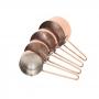 Conjunto Xícaras Medidoras Bronze - 4 Peças