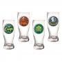 Copo Pilsen Tampas de Cervejas Sortidos -  Caixa Presente
