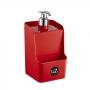 Dispenser/Porta Detregente Slim Vermelho - 18cm