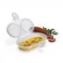 Forma para Ovo e Omelete Microondas