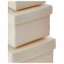Mini Caixa Organizadora - Kit 4 Peças