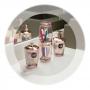 Porta Sabonete Líquido Premium Rose - 15,8cm