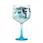 Taça Gin Tonica com Pé Azul - 705ml