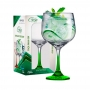 Taça Gin Tonica com Pé Verde - 705ml