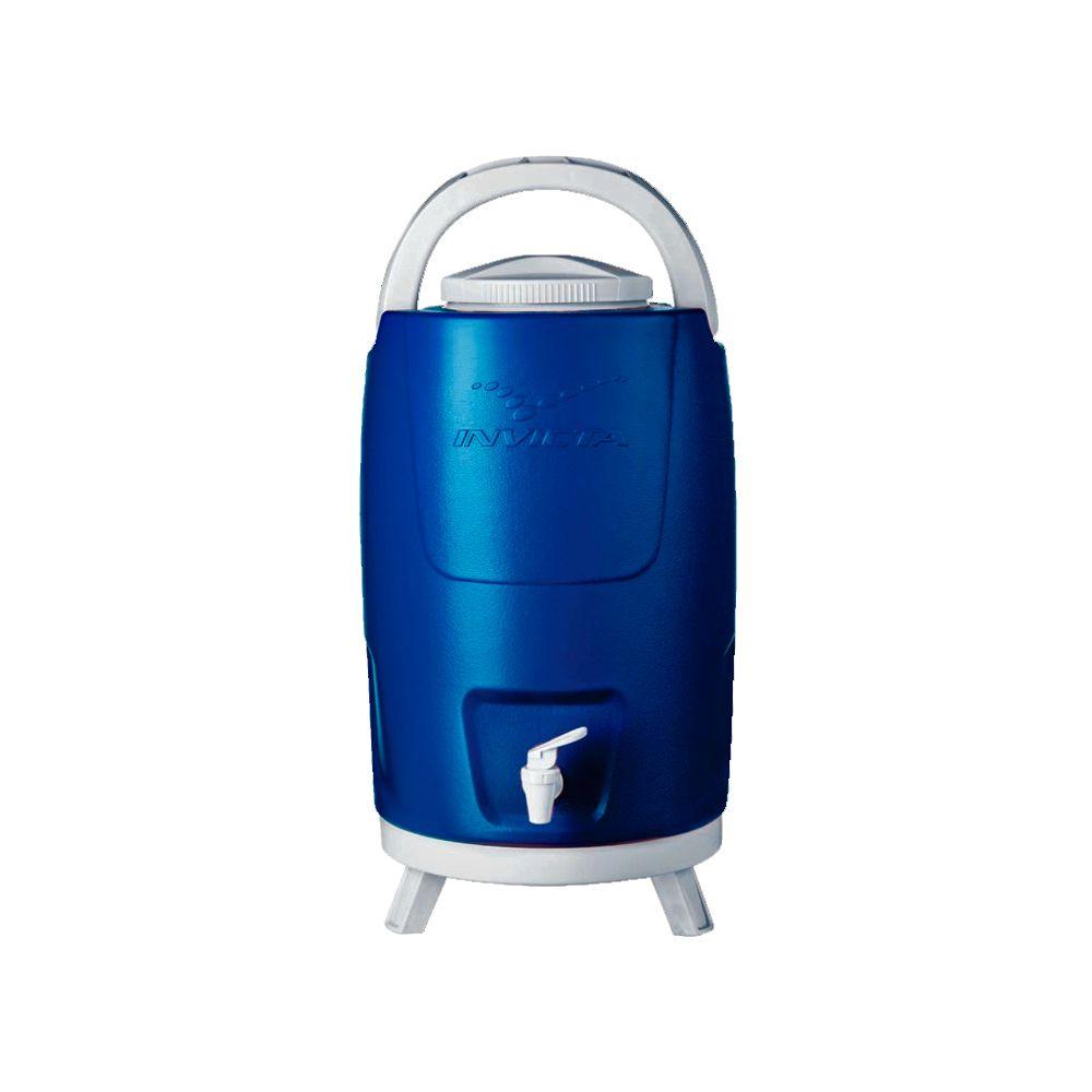 Botijão Térmico Azul com Tripé - 12 Litros