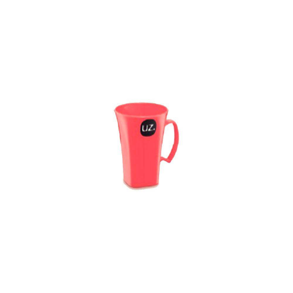 Caneca Cappuccino Coral Solido - 400ml