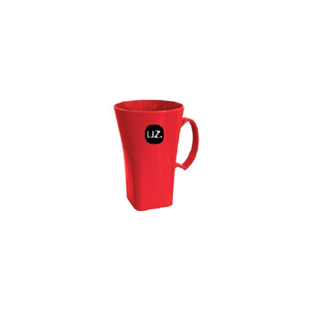 Caneca Cappuccino Vermelha 400ml