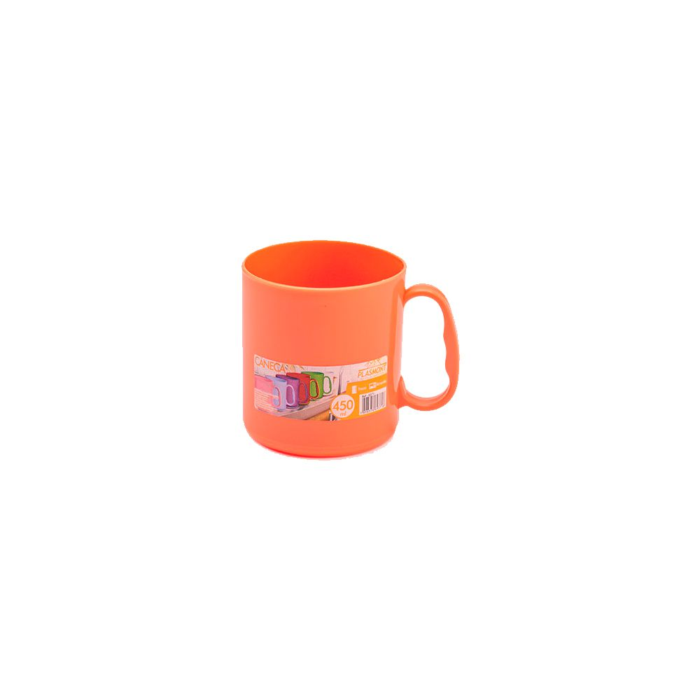 Caneca Colorida Pp - 450ml