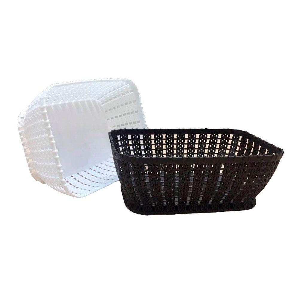 Cesto Organizador Plástico - 20cm