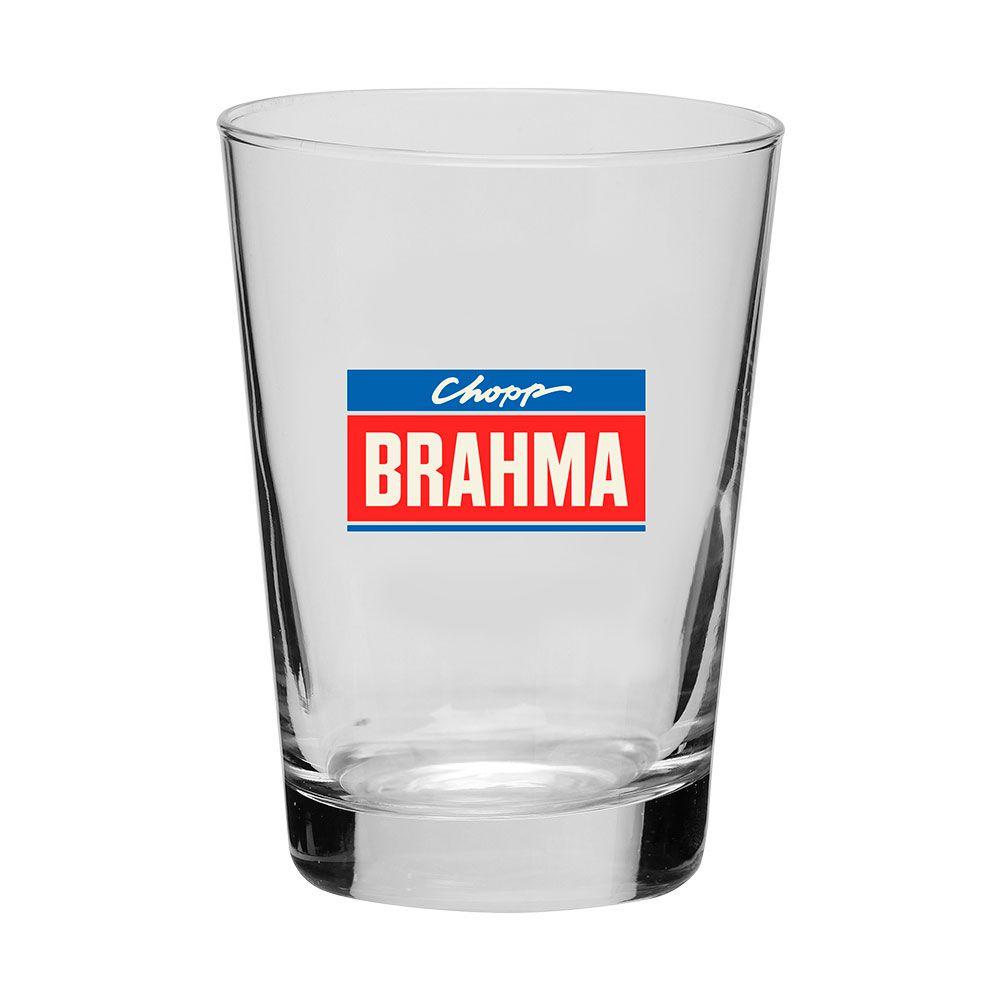 Copo Caldereta Ambev Brahma 350ml - Caixa com 12 unidades