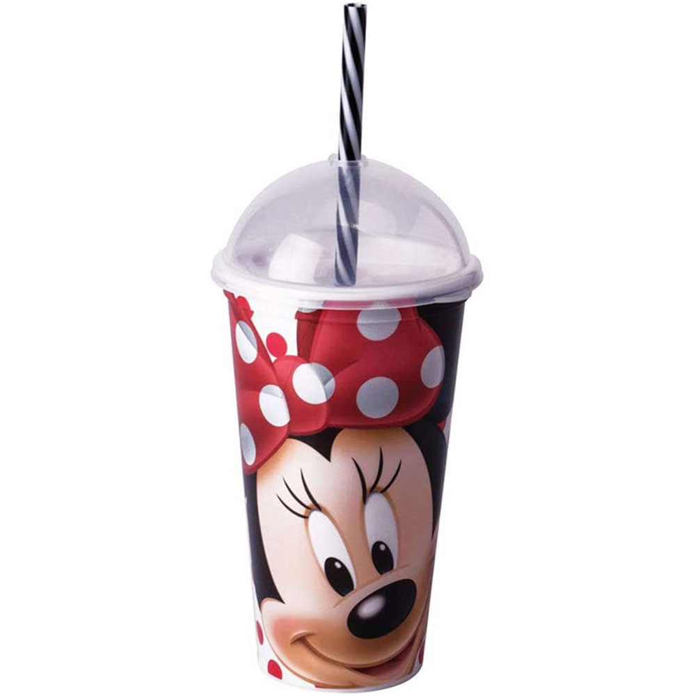Copo Shake Minnie com Canudo - 500ml