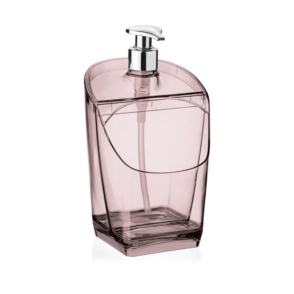 Dispenser/Porta Detergente Rosa - 18cm