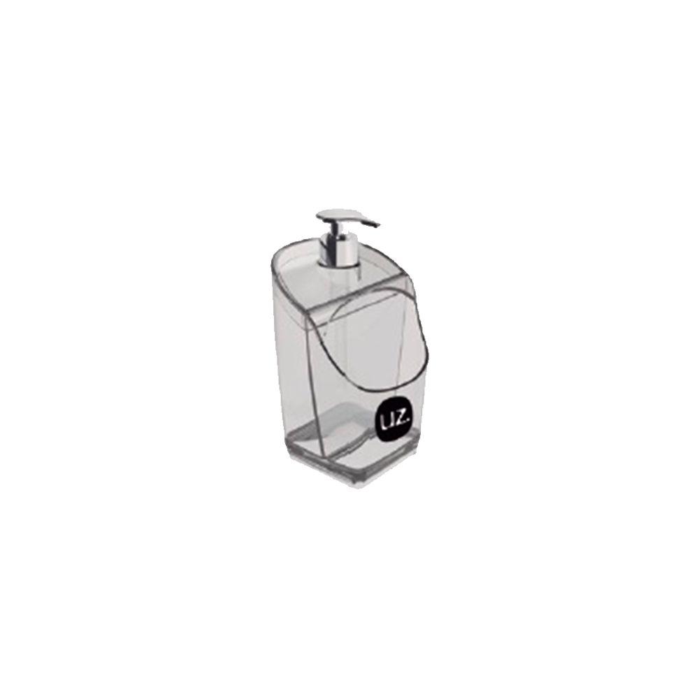 Dispenser / Porta Detergente Translúcido Preto