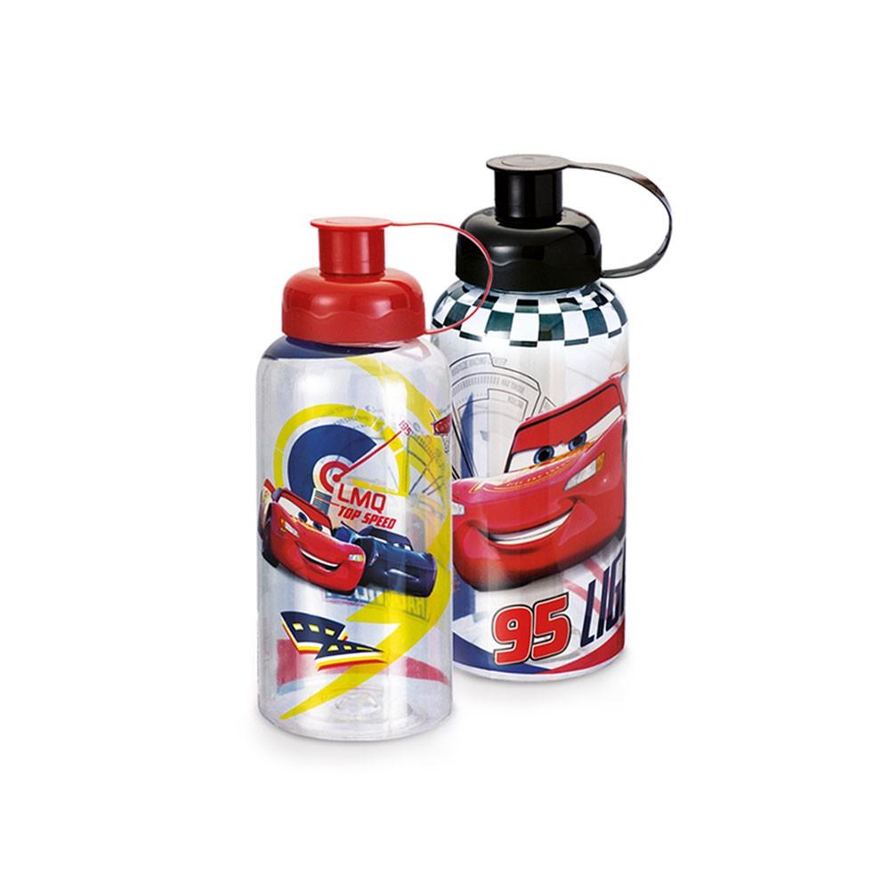 Garrafa Carros com Tubo de Gelo - 550ml
