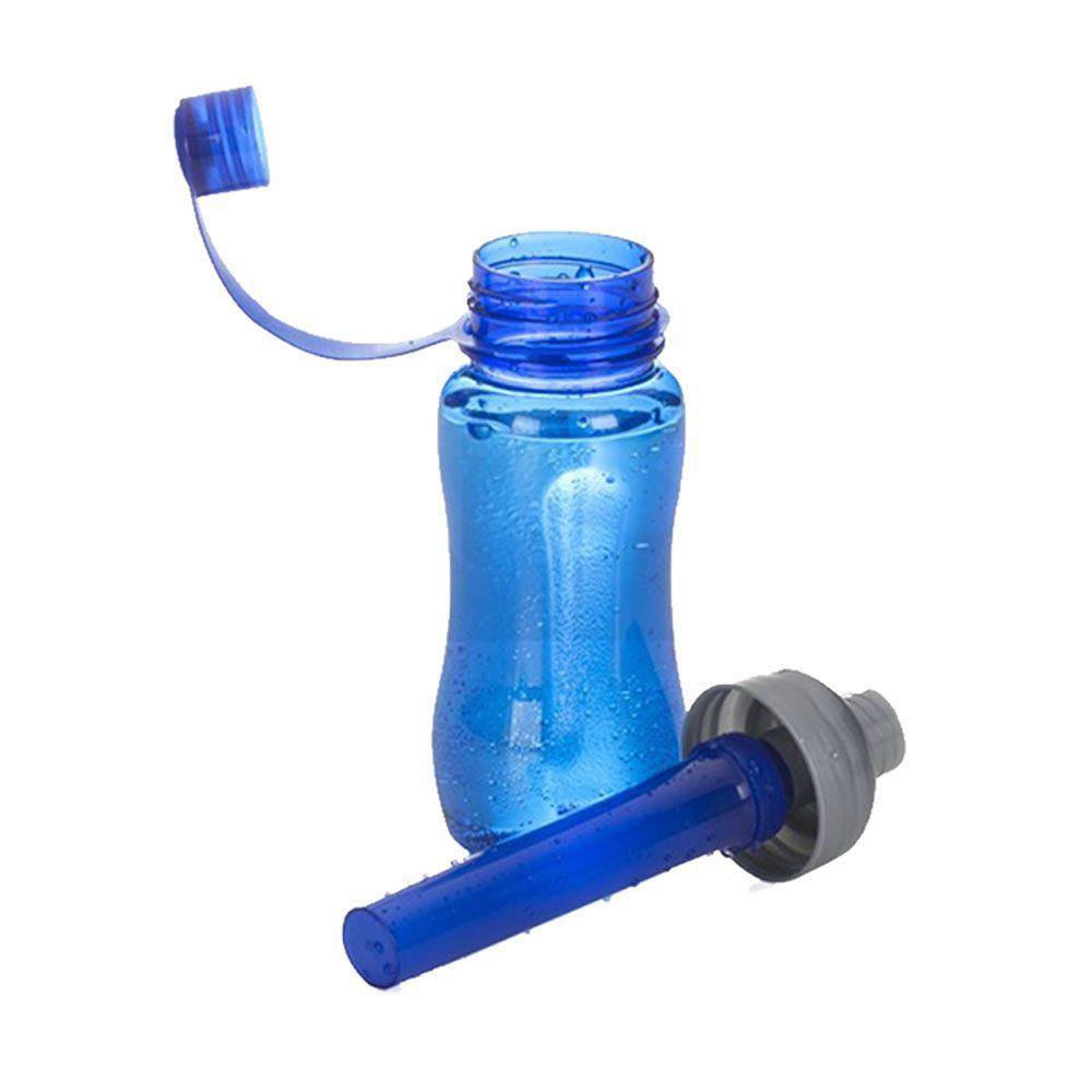 Garrafa de Plástico com Recipiente - 600ml
