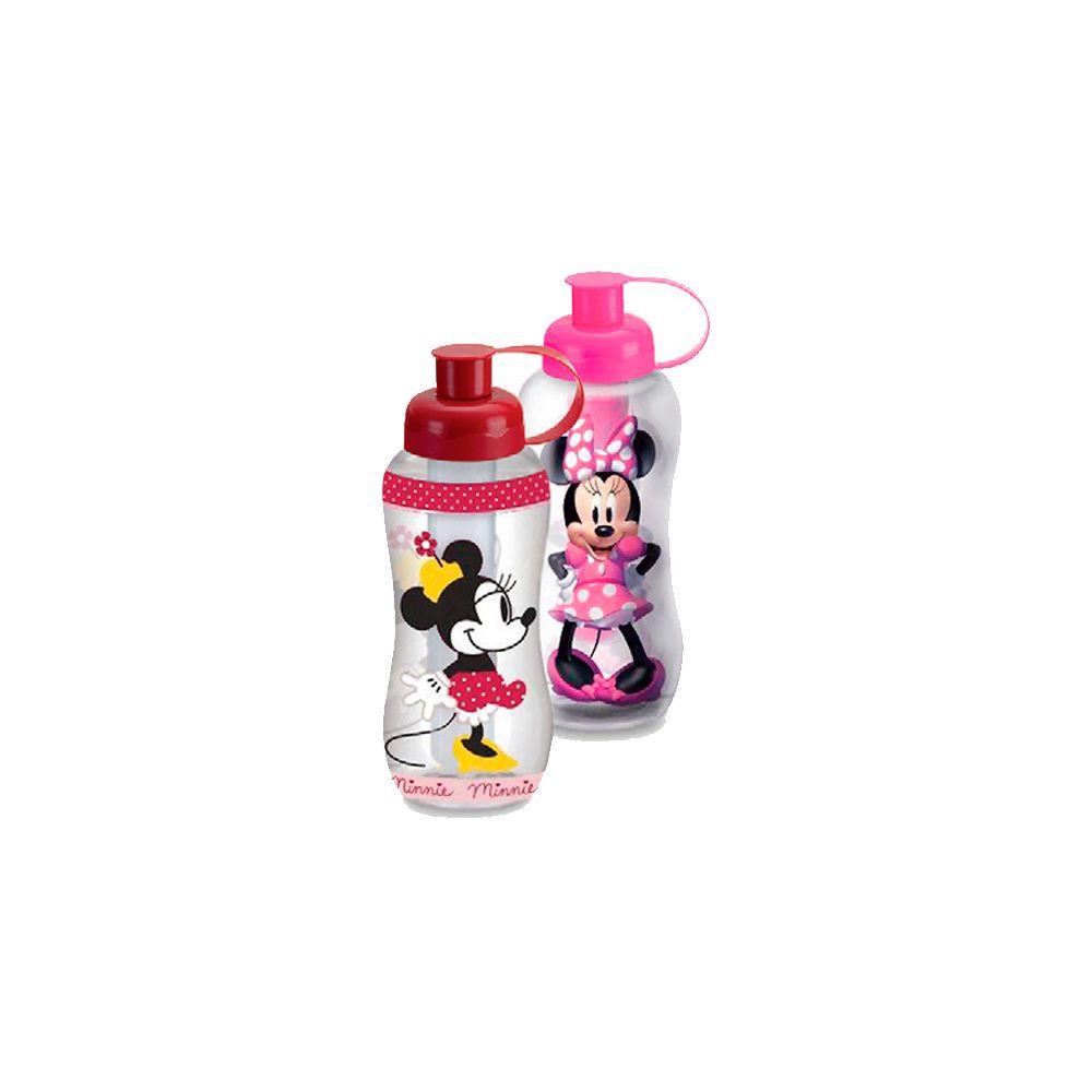 Garrafa Minnie com Tubo de Gelo - 550ml