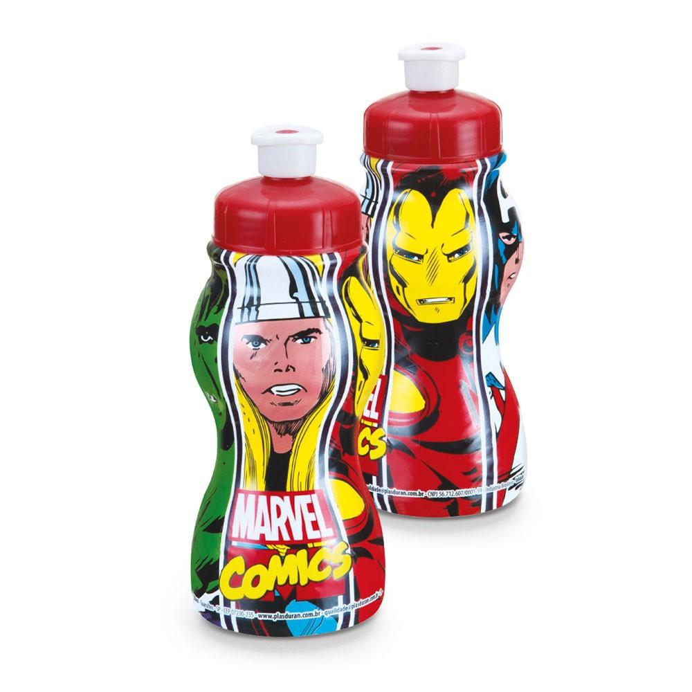 Garrafa Sleeve Marvel Comics - 250ml