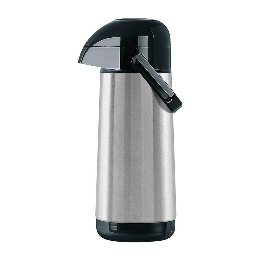Garrafa Térmica Lúmina Inox Pump TERMOLAR - 1 Litro