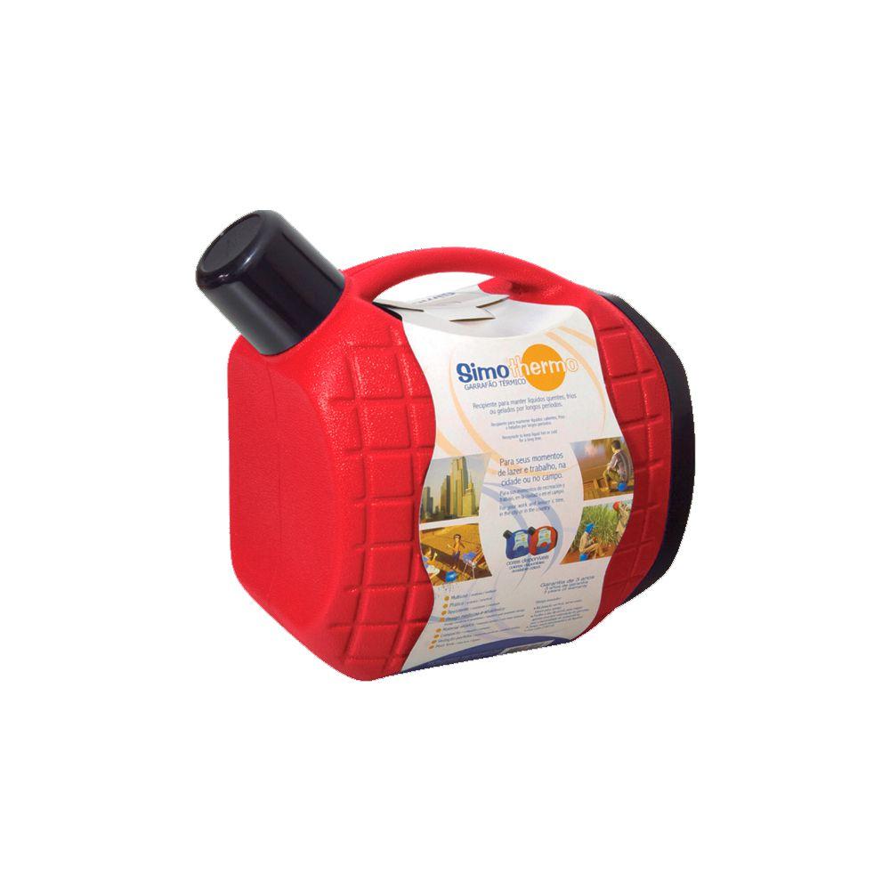 Garrafão Térmico Vermelho - 5 Litros