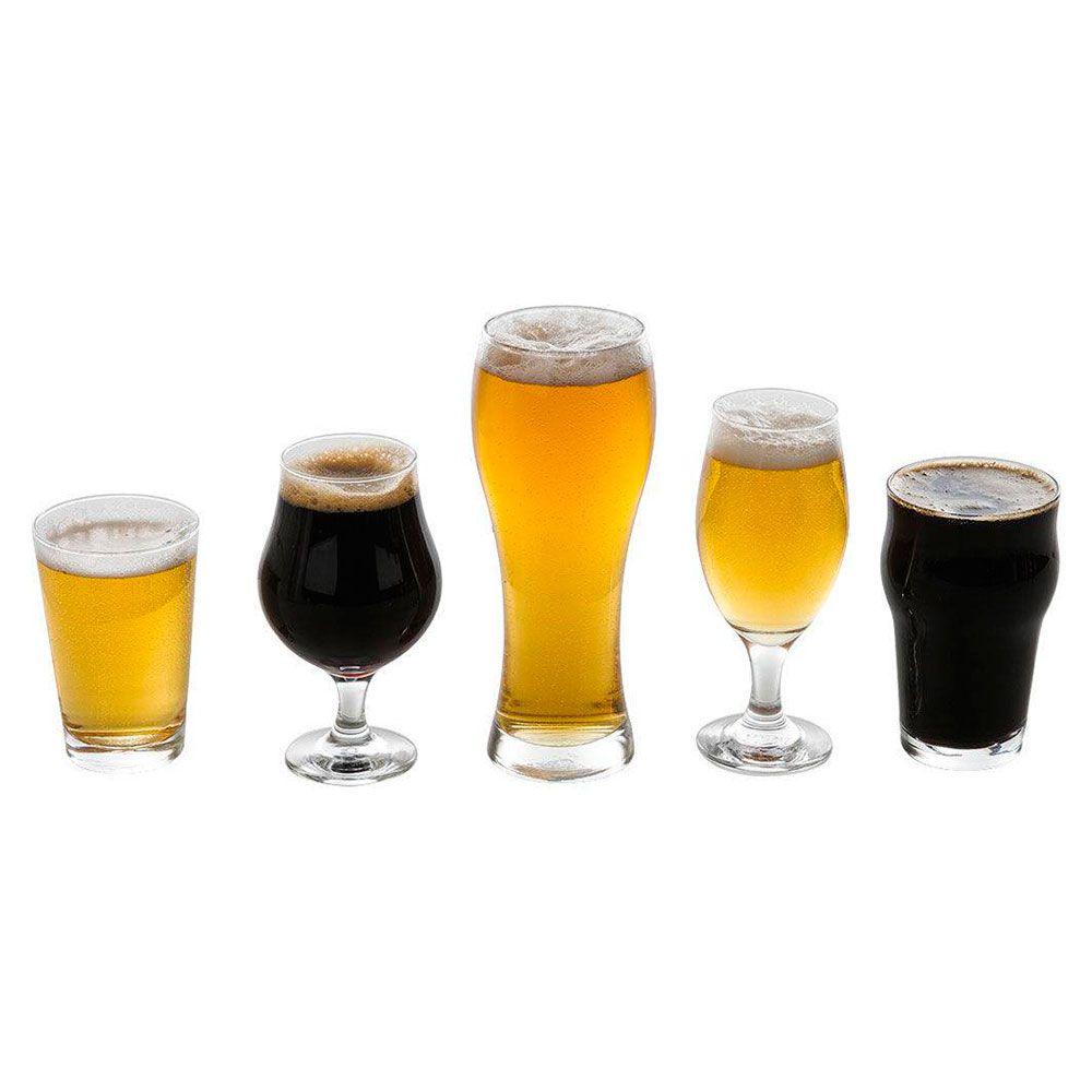 Kit com 5 Copos Cervejas Especiais