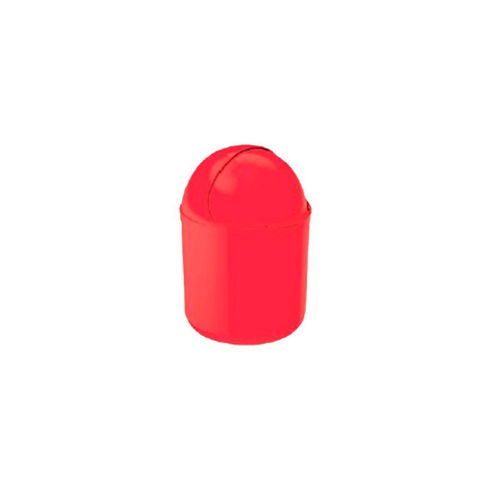 Lixeira de Pia Vermelha 4Lts