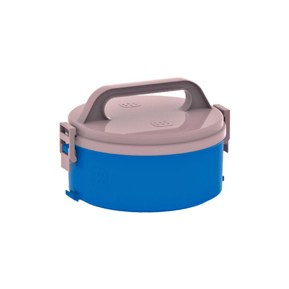Marmita Térmica Tekcor S/ Divisao Azul 1,5Lts