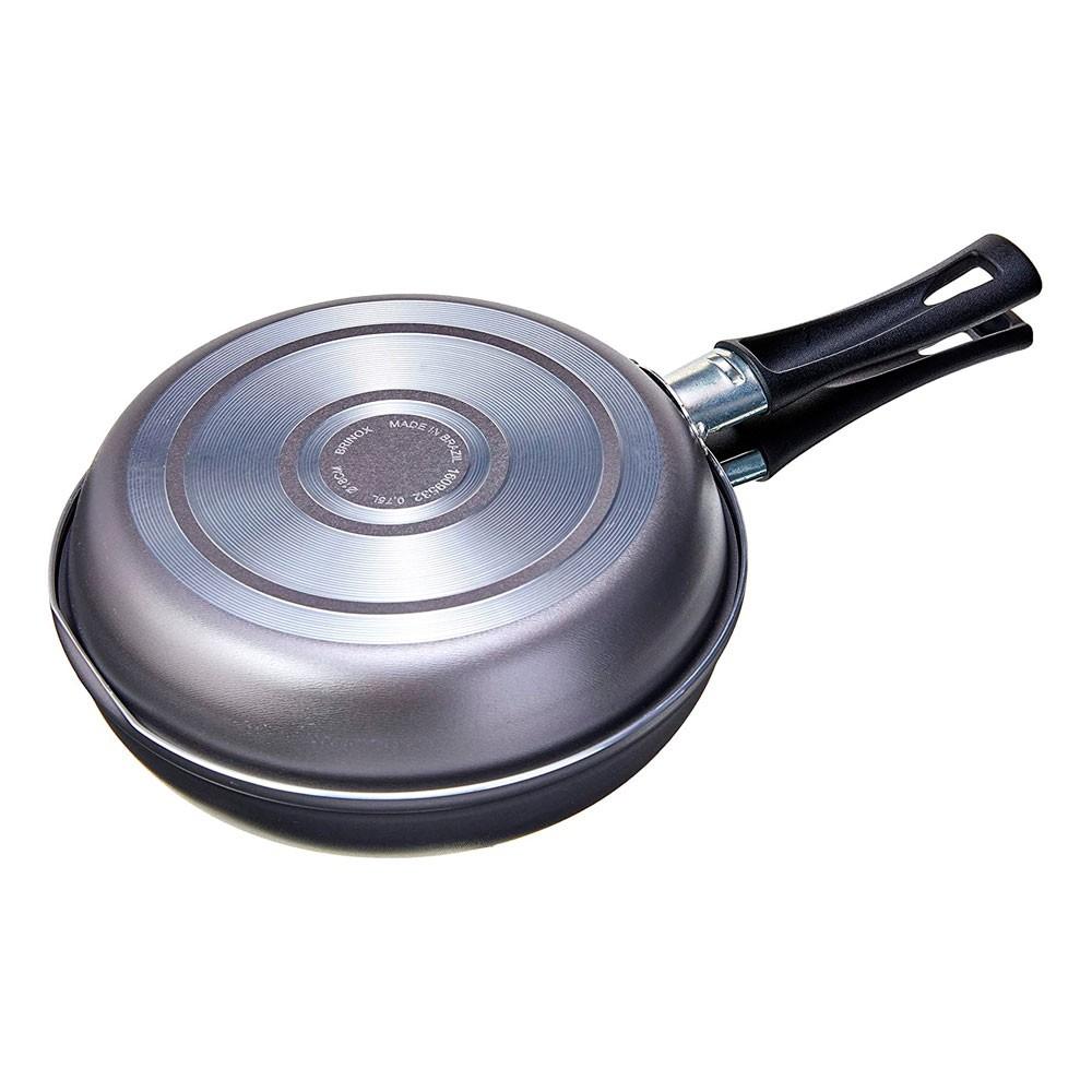 Omeleteira Chilli Prata Brinox - 18cm