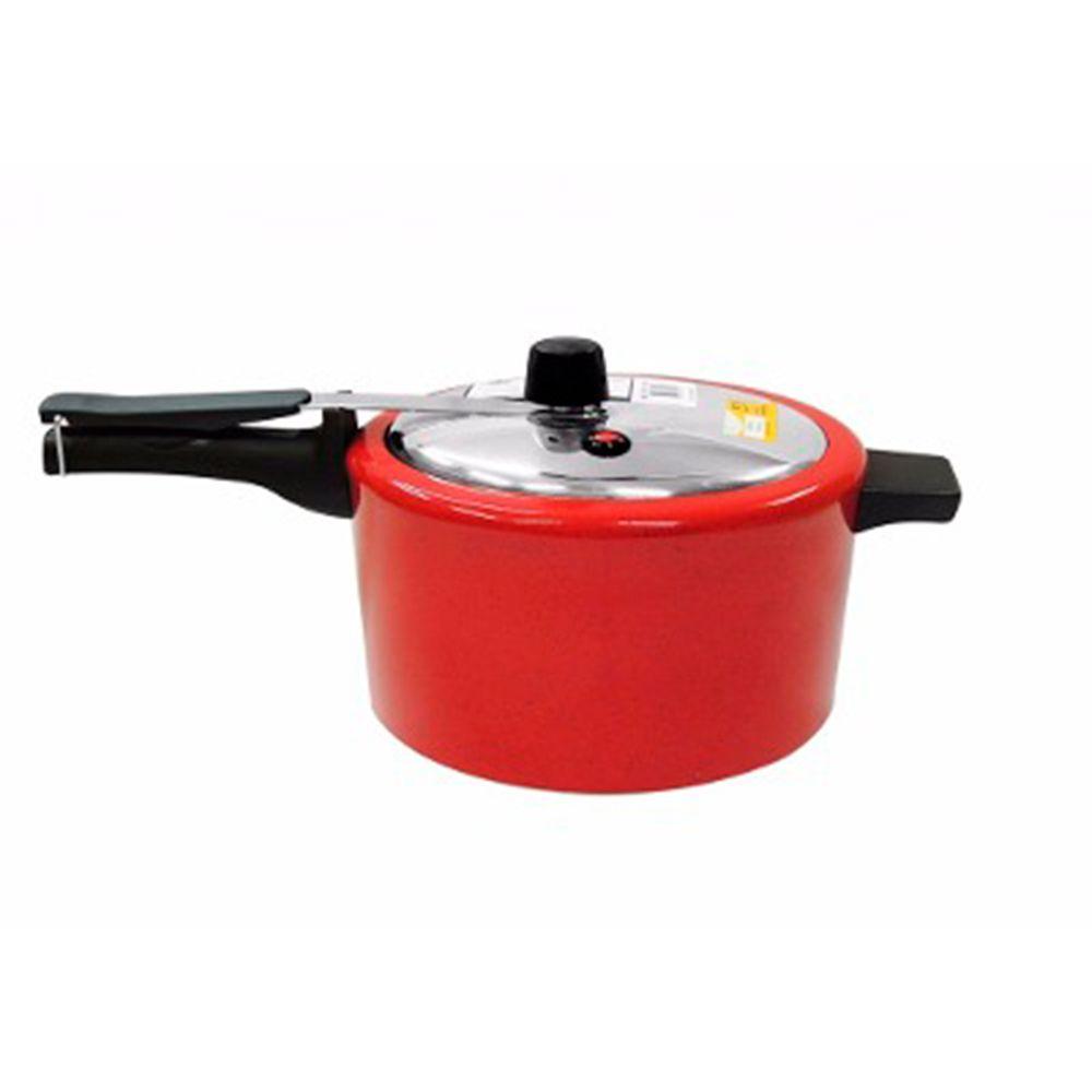 Panela de Pressao Mr Cook Epoxi Vermelha - 3 Litros