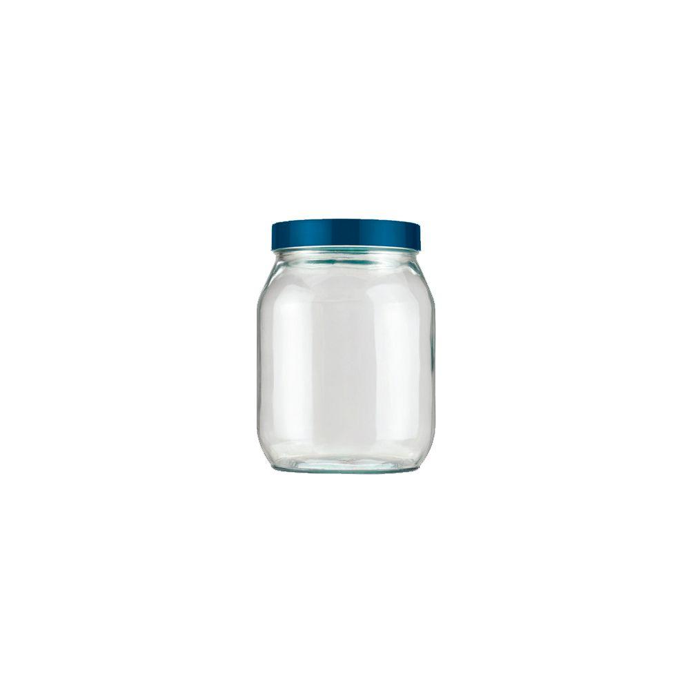 Pote de Vidro Liso 1,3Lts