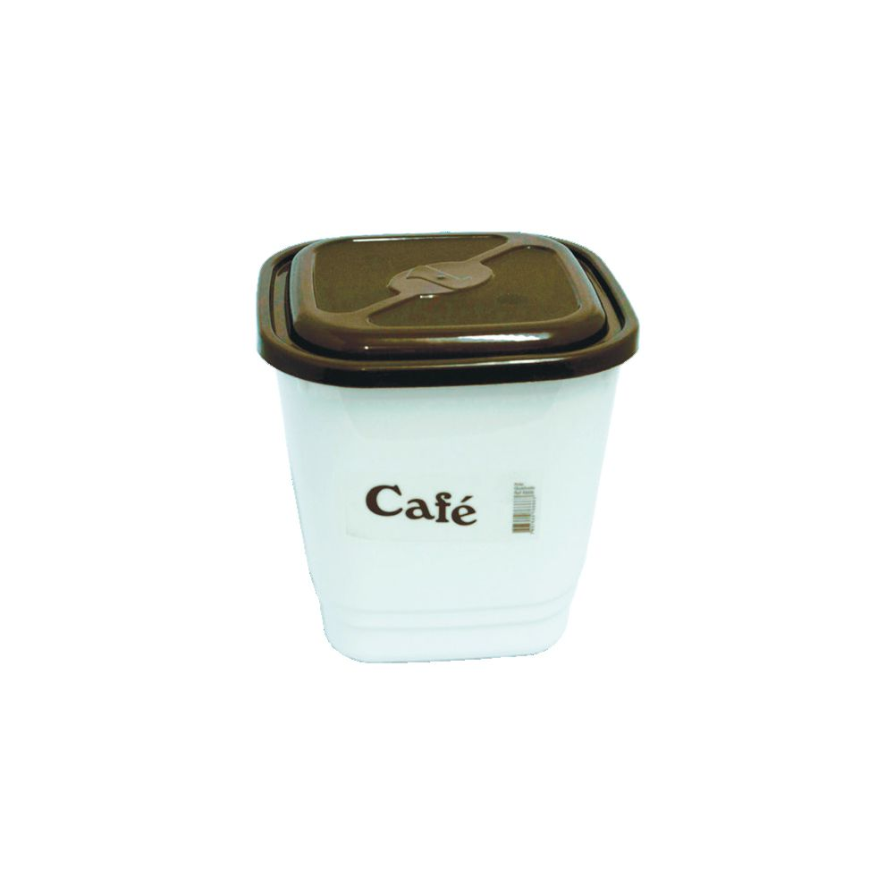 Pote Quadrado para Café 1,65Lts