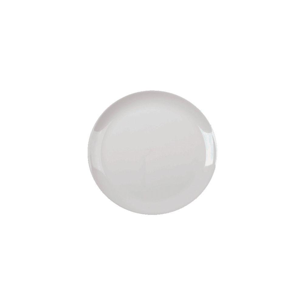Prato Duralex Blanc Raso 27Cm - Caixa c/ 12 unid